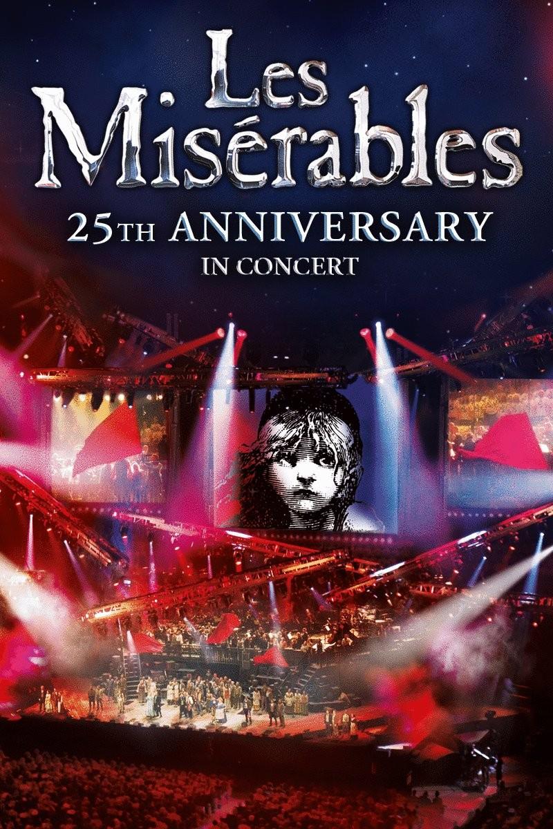 25th anniversary les miserable concert